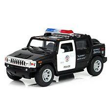 """2005 Hummer H2 SUT POLICE Diecast Car Model 1:40 Scale Kinsmart 5 """""""