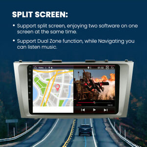 """9""""Car Stereo Android 10 Auto Radio GPS Navi Head Unit Bluetooth For Toyota Camry"""