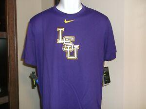LSU Tigers Baseball Nike Dri Fit shirt Men's Medium nwt - Free Ship