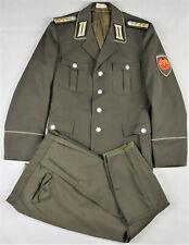 DDR NVA Uniform Stabsfähnrich Pioniere m48 1986 Stiefelhose SELTEN!!! 3114