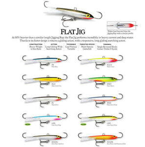 Rapala Flat Jig // RFJ04 // 4cm 16g Fishing Lures (Choice Of Colors)