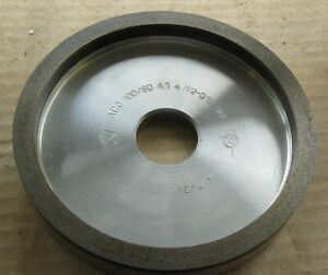 DIAMOND GRINDING WHEEL 6A2 Metal  bond  D 150-10-32 mm GRIT 100   .