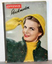 CONSTANZE Strickmoden und Handarbeit Heft 3 (1957)