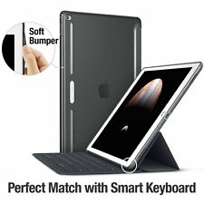 Apple iPad Pro Case Back Shell Protector Silicone Bumper Cover Fits Keyboard
