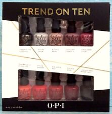 OPI TREND ON TEN 10-pc Mini Polish Gift Set like TAKE TEN, TOP TEN, BEST of BEST