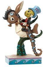Disney Traditions Jim Shore Jiminy Cricket Horsing Around Figurine 15cm 4043648
