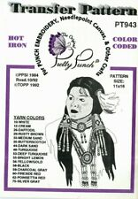 Pretty Punch Iron Transfer Patterns Punch Embroidery PT943 Indian