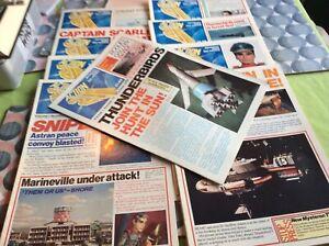 Gerry Anderson. Action tv magazine. 10 vol set. Vol 1 to Vol 10