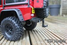 Black Adjustable Tow Hitch for Traxxas TRX-4 Landrover D110 Scale Crawler