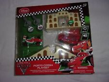 DISNEY STORE CARS 2 PORTO CORSA KEY CHARGER PLAYSET AGE 3+  NEW SEALED