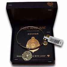 NEW SEALED ALEX AND ANI ANCHOR II Wire Bracelet Rafaelian Gold +Tag+Card+Box