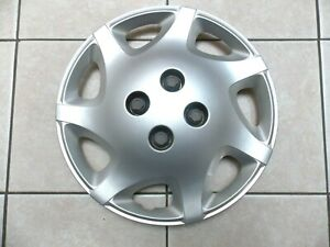 """(1) OEM 2000-2002 Saturn SL1 SW1 14"""" Bolt-On Hubcap Wheel Cover #0A GM 21012898"""