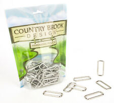 24 - Country Brook Design® 1 1/2 Inch Lite Welded Rectangle Rings
