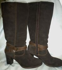 Tamaris Boots, Brown Suede, Size 6 / 39 Excellent, Worn Twice RRP £79.99 Boxed