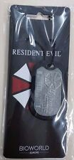 Resident Evil pendentif dog tag umbrella dog tag resident evil officiel