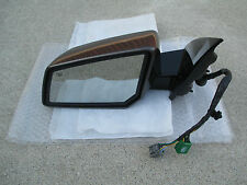 07 - 08 SATURN OUTLOOK DRIVER SIDE POWER FOLDING MEMORY AUTO MIRROR P/N 25842055