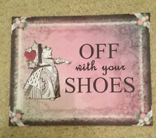 alice in Wonderland Paper Party Signs birthday/Wedding decorations