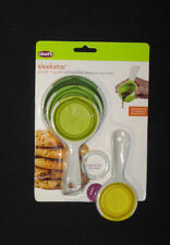 Chef 'n SleekStor Pinch + Pour 4 Collapsible Measuring Cups, 1/4 to 1 Cup - NEW!