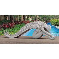 Angel Garden Statue Sculpture Figurine Extended Grace Art Piece Lawn Decor GIFT