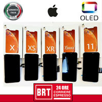 DISPLAY LCD+TOUCH SCREEN+FRAME OLED=ORIGINALE PER APPLE IPHONE X XR XS XS MAX !!