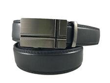 Leather Jeans Dress Belt SLIDER Comfort and Automatic Lock S M L XL XXL 3XL