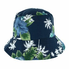 New Kenny K Men's Reversible Tropical Bucket Hat