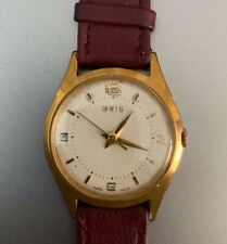 Vintage Oris Gold plated watch
