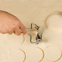 Round Rolling Biscuit Cookie Pastry Cutter Dough Circle Cutting Blade Tools Hot