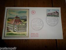 FRANCE 1970, FDC 1° JOUR, SALINES DE CHAUX-NICOLAS LEDOUX, timbre 1651