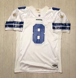 Vintage Wilson Prestige Teams NFL #8 Troy Aikman Dallas Cowboys Jersey Size 52