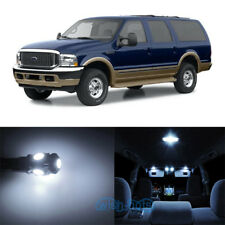 Pc Ultra White Smd Led Bulbs Interior Lights Package Kit For Ford Excursion Wk