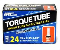 """Irc Torque Downhill Bicycle Tube Schrader Valve 24"""" X 2.35-3.0 Bike"""