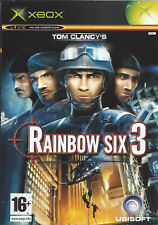 RAINBOW SIX 3 for Xbox - with box & manual - PAL