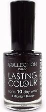 Collection 2000 Lasting Colour PURPLE Nail Varnish Polish High Gloss Cosmetics