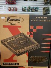 Farenheit Class X CLX470-2 Power Amplifier New in Box