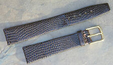 Perfect texture lizard calf 17.3mm vintage watch band 1950s/60s new old stock