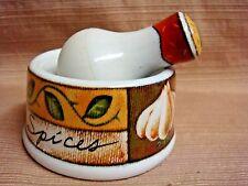 JOLE Mini Porcelain MORTAR & PESTLE for Spices / Epices - MSC Int'l