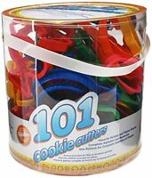 NEW Wilton 101 Piece Cookie Cutter Set  Holiday Shapes Craft FREE SHIPPING
