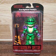 Five Nights At Freddy' - violación de seguridad Montgomery Gator Funko, figura de acción