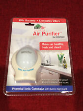 IonLite Power Outlet Air Purifier Ionizer Night Light |Halls Rooms|Travel Hotels