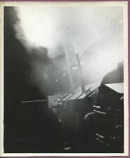 WW2 PTO Coast Guard USCGC Firing Forward 5in Guns 8x10 Original Press Photo