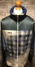 Fila Vintage Track Jacket Zip Up Size XL Rare 80s Retro