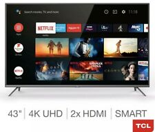 """TCL EP658 43"""" 4K HDR Android TV"""