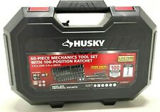 Husky Mechanics Tool Set, 1/4 and 3/8 in Drive 100-Position Universal Ratchet