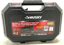 Husky Mechanics Tool Set, 1/4 and 3/8 in Drive 100-Position Universal Ratchet
