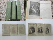LIBRI ANTICHI 1800, ITALIANO E FRANCESE, STAMPE