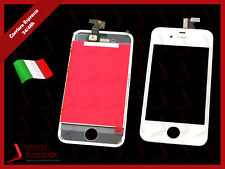 DISPLAY LCD + VETRO TOUCH IPHONE 4 BIANCO