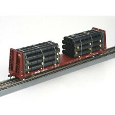 Athearn BNSF 545115 Flat Bed with Pipe Cargo (HO Scale)
