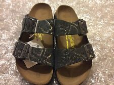 PAPILLIO BY BIRKENSTOCK ARIZONA ROYAL PYTHON BLACK LEATHER  US 7N EU 38(4500