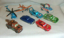Disney Pixar Cars Diecast Plastic Loose Race Cars Airplane Helicopter Tow Trucks